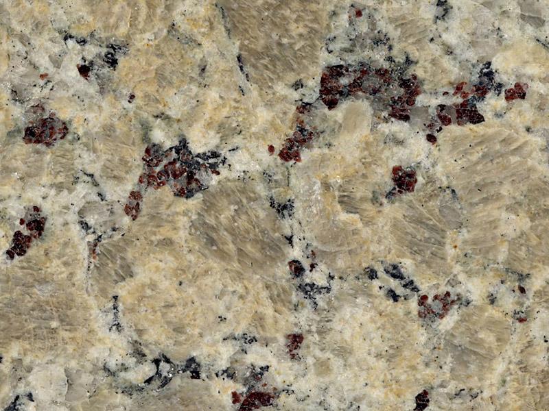 View of Granite - Golden Butterfly 3cm