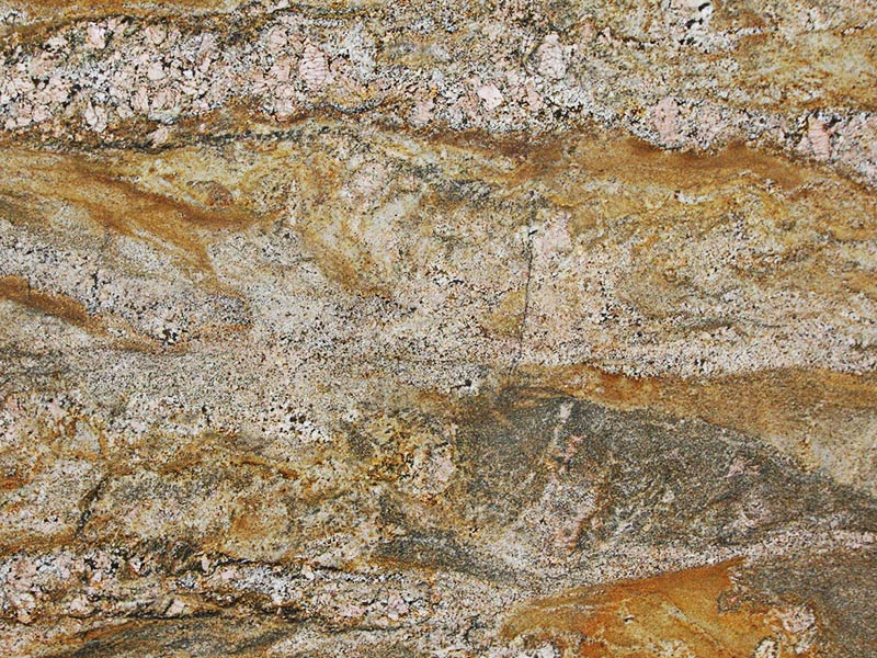 View of Granite - Giallo Fantasy 3cm