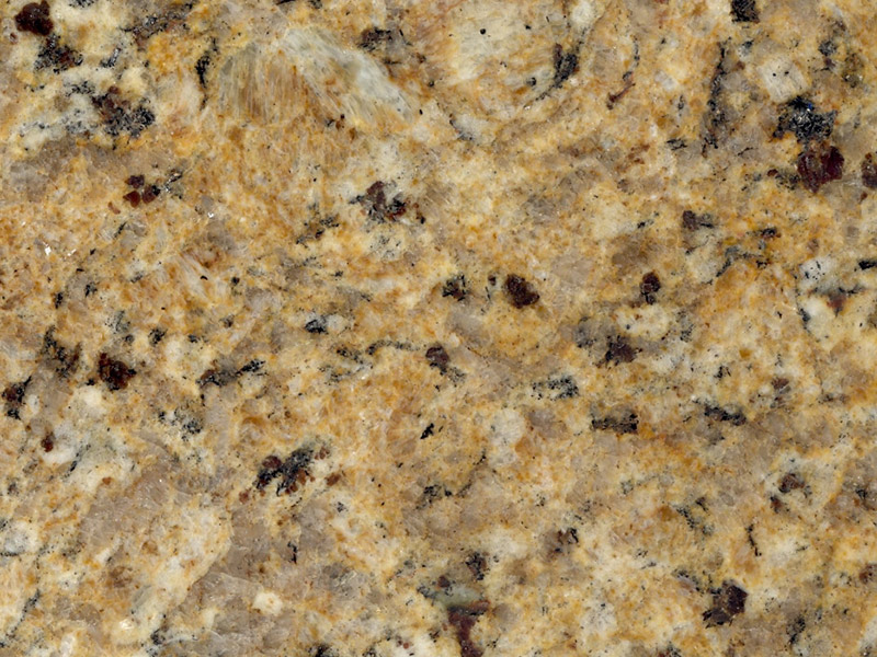 View of Granite - Gold Brazil 3cm