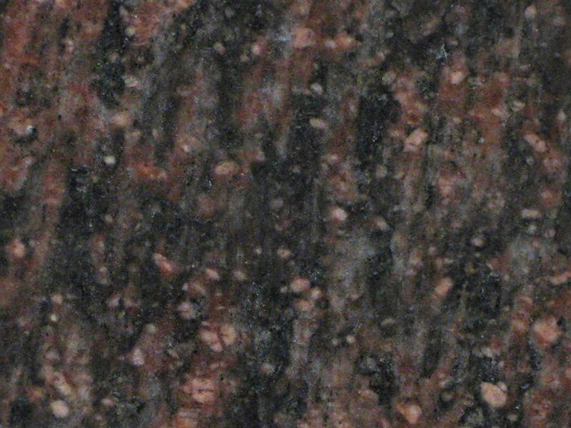 View of Granite - Indian Teak 3cm