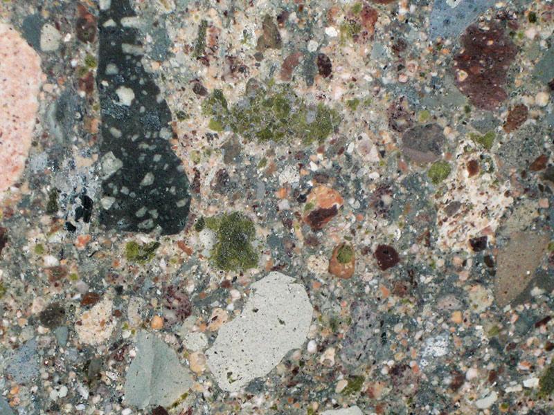 View of Granite - New Cosmic Green 3cm