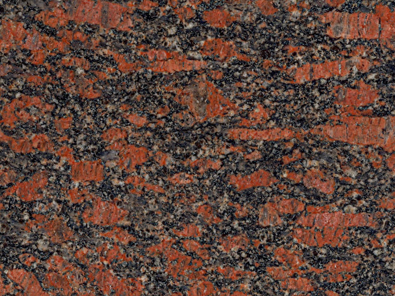 View of Granite - Oriental Red 3cm