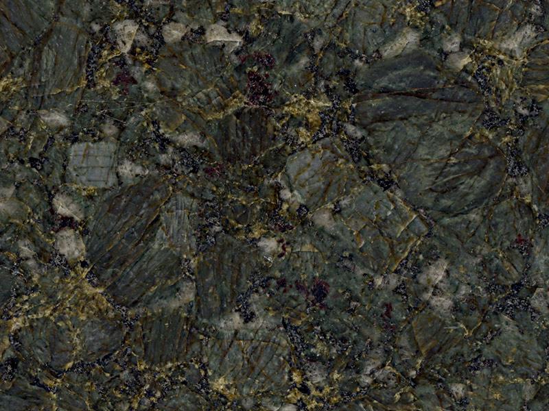 View of Granite - Verde Butterfly 2cm & 3cm