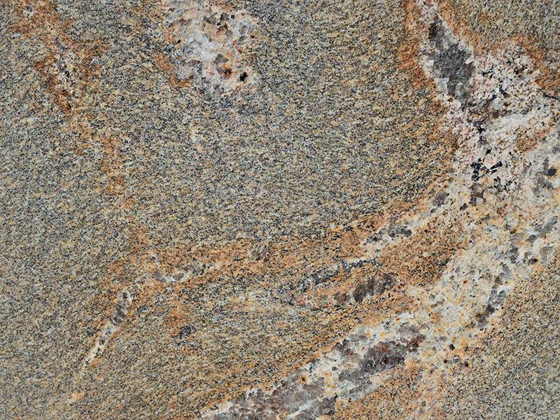 View of Granite - Copper Brown 3cm