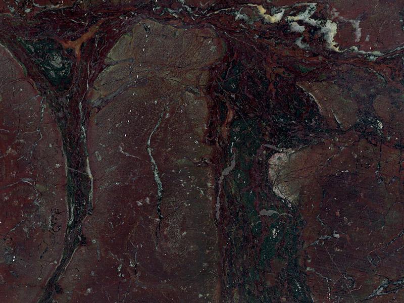 View of Granite - Ocean Red 3cm