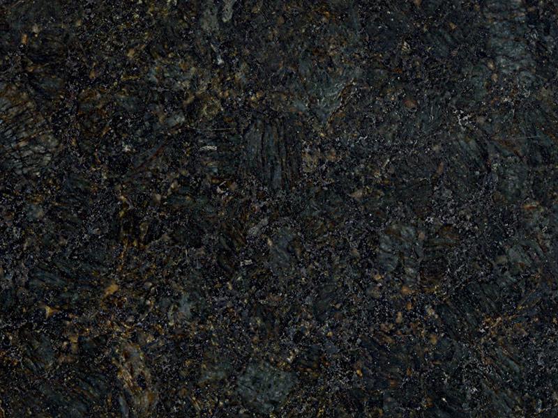 View of Granite - Peacock Green 3cm