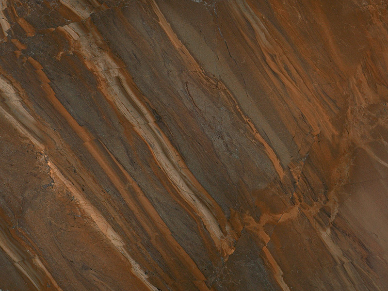View of Quartzite - Copper Dune Leather Quartzite 3cm