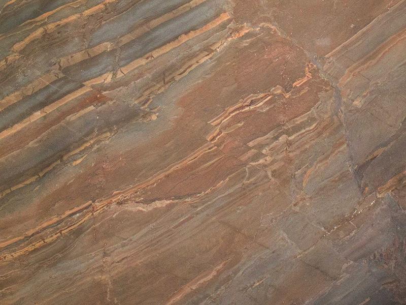 View of Quartzite - Copper Dune Quartzite 2cm