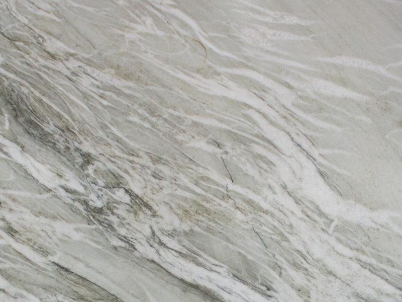 View of Quartzite - Nuage Quartzite Leather 3cm