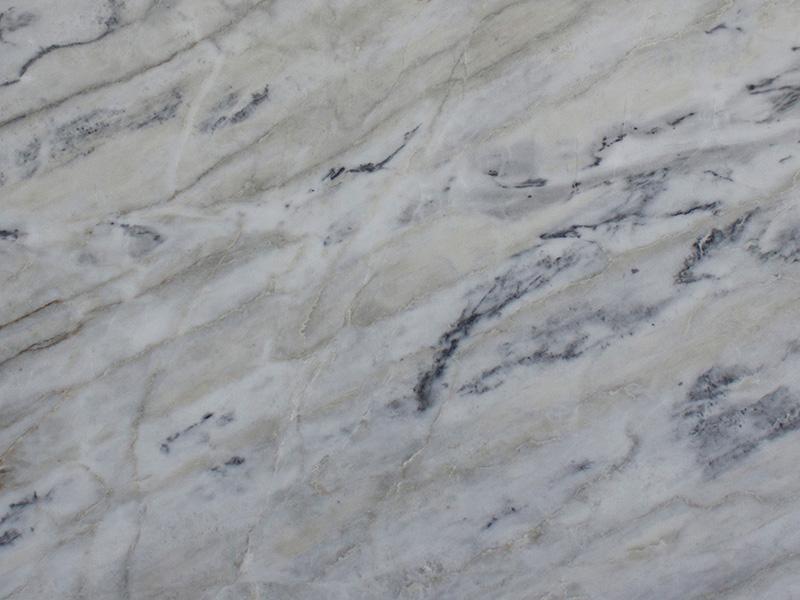 View of Marble - Amadeus White 2cm