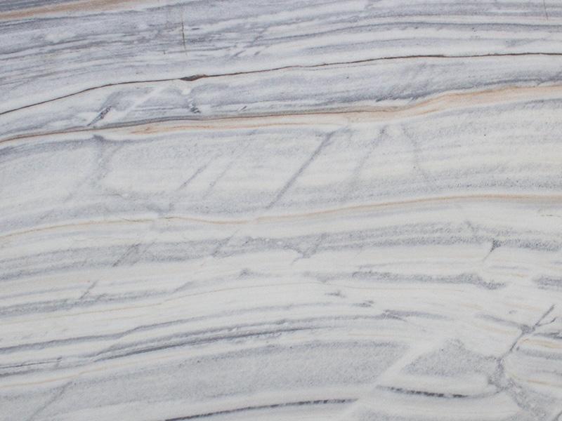 View of Marble - Bianco Lasa Venato Honed 3cm