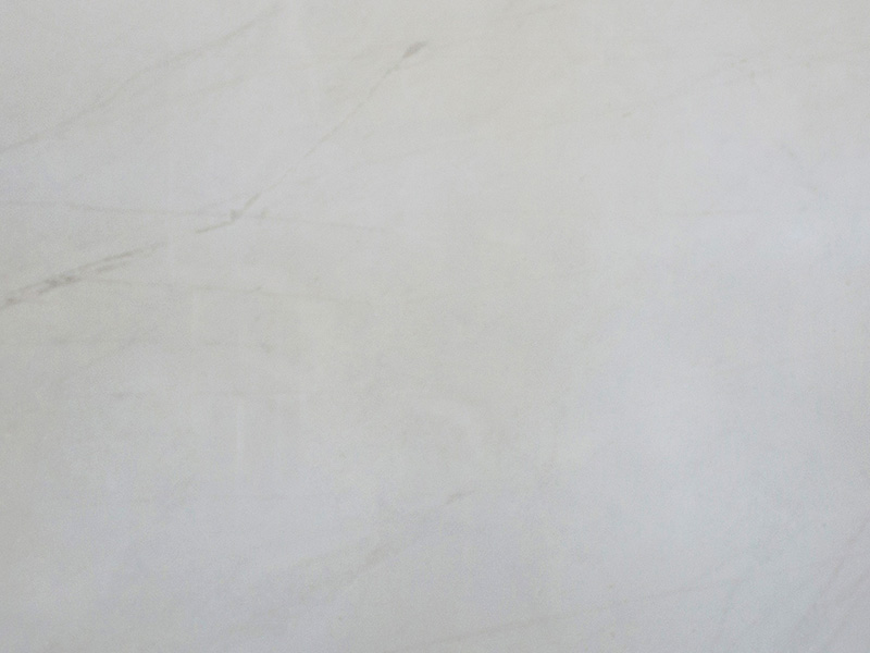 View of Marble - Lincoln White 2cm