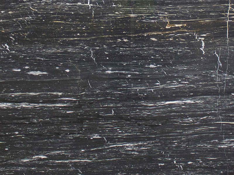 View of Marble - Zebrino Black & Gold (AVP) 2cm