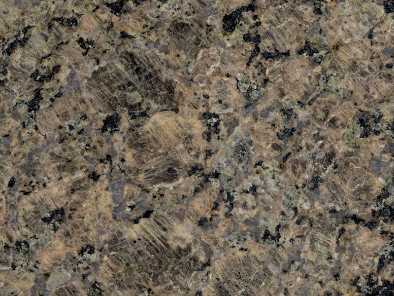 View of Granite - Castor Brown 2cm