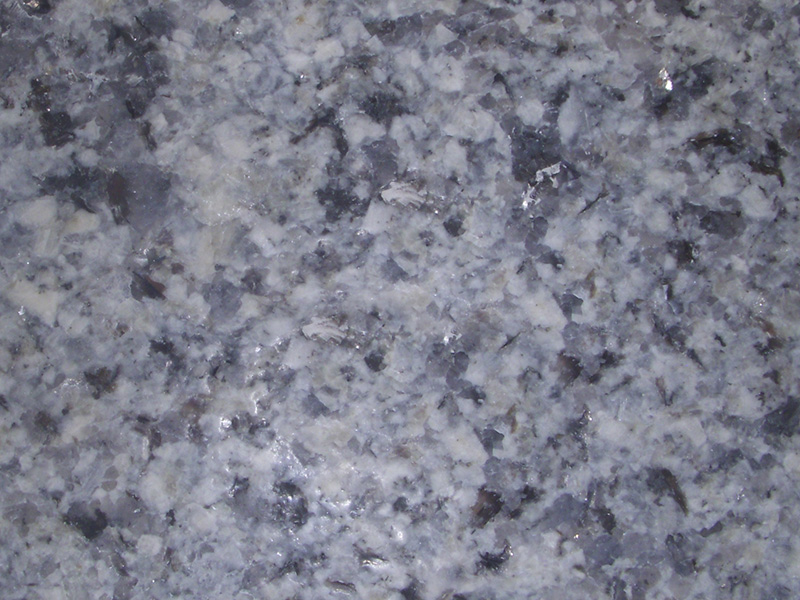 View of Granite - Classic Leather Silver Gray 3cm