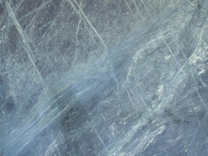 View of Granite - Lake Verde Leather 3cm