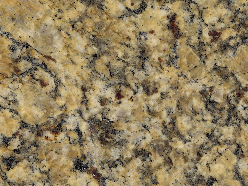 View of Granite - Santa Cecilia / Portofino Gold 2cm