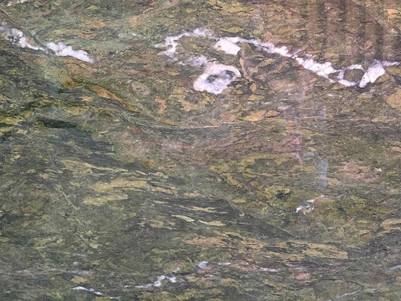View of Granite - Tourmaline 2cm