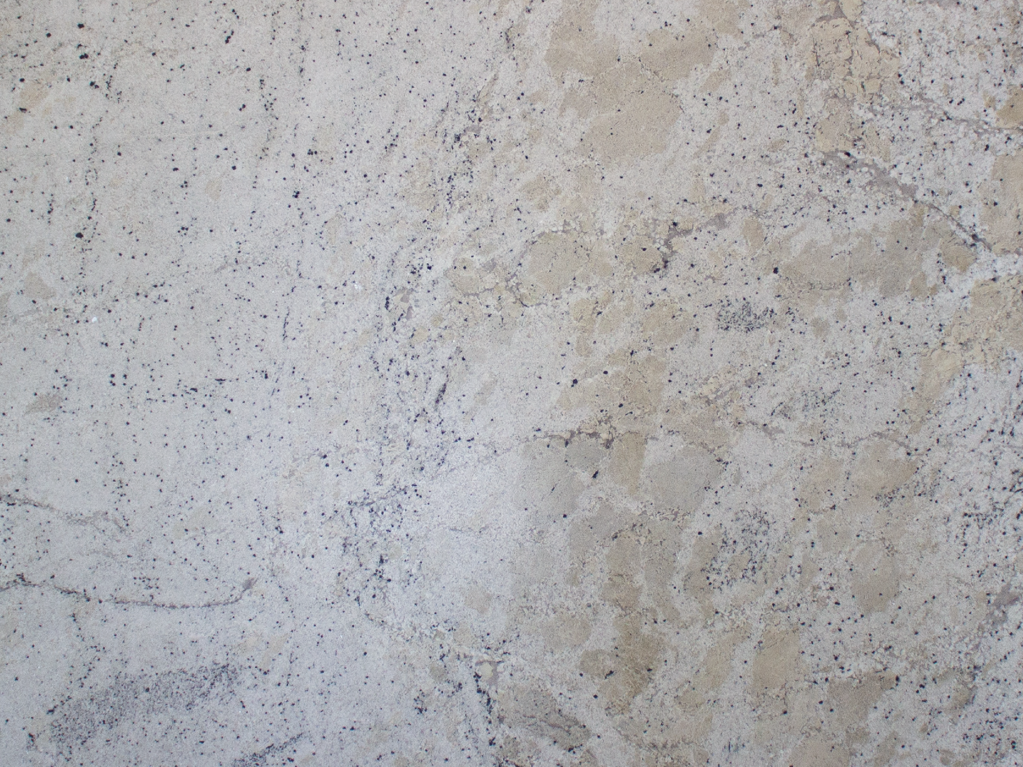 View of Granite - Fantastic White Leather 3cm