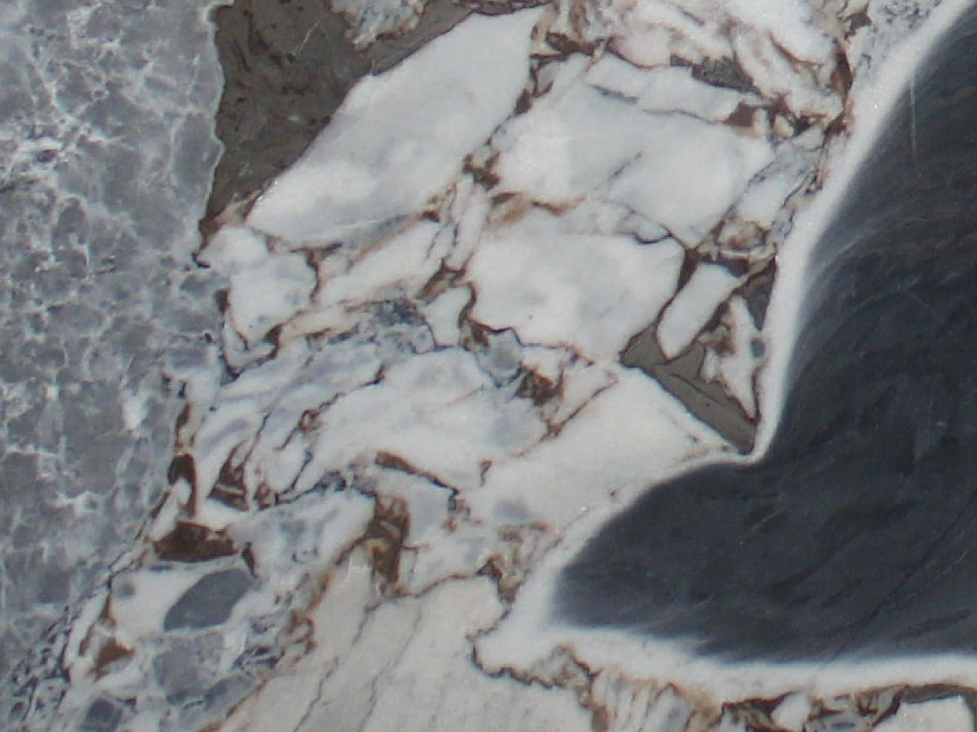 View of Marble - Ocean Storm 2cm