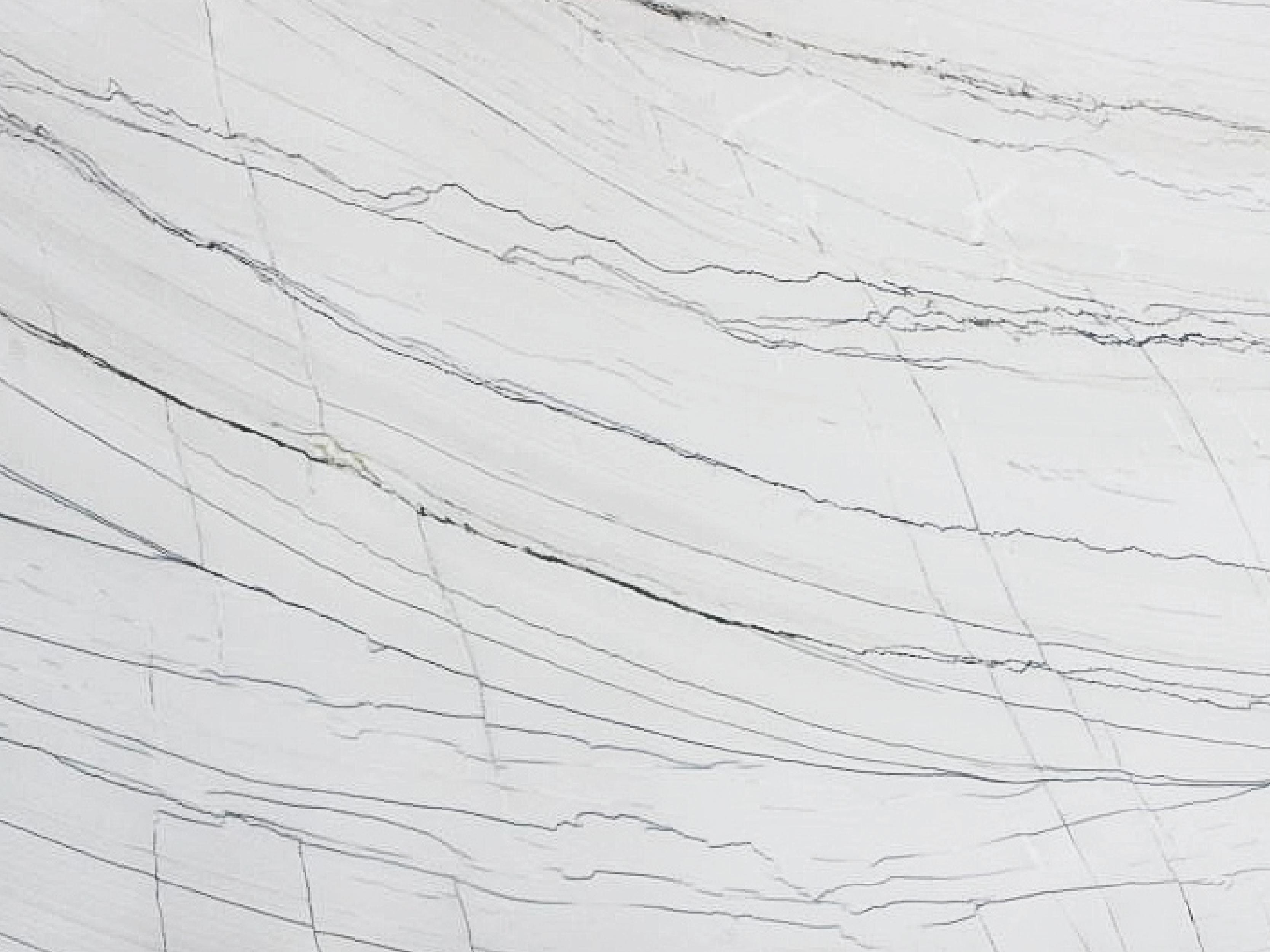 View of Quartzite - Infinity White Standard Quartzite 3cm
