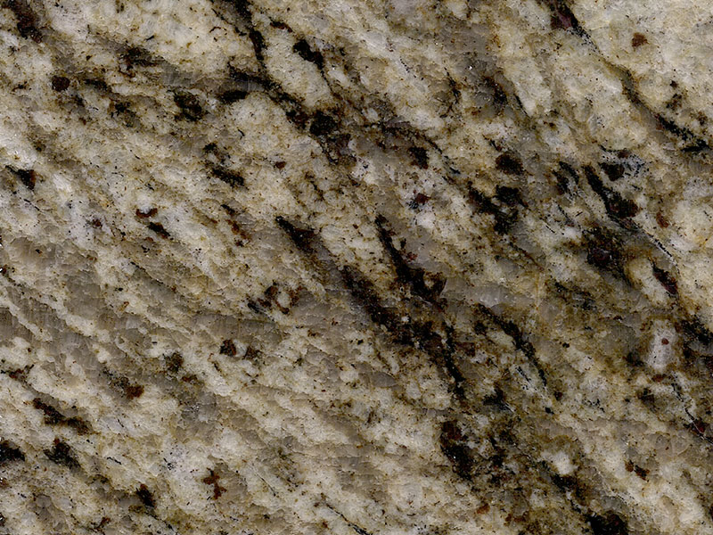 View of Granite - Classic Leather Pale Yellow 3cm