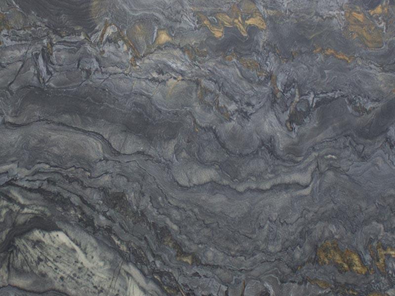 View of Granite - Black Fantasy CC Leather 3cm