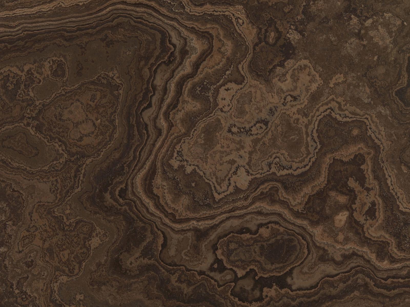 View of Marble - Magic Brown Cross Cut 2cms