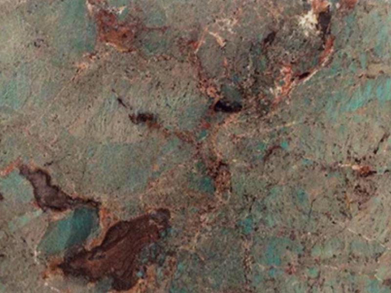 View of Granite - Amazonite 2cm