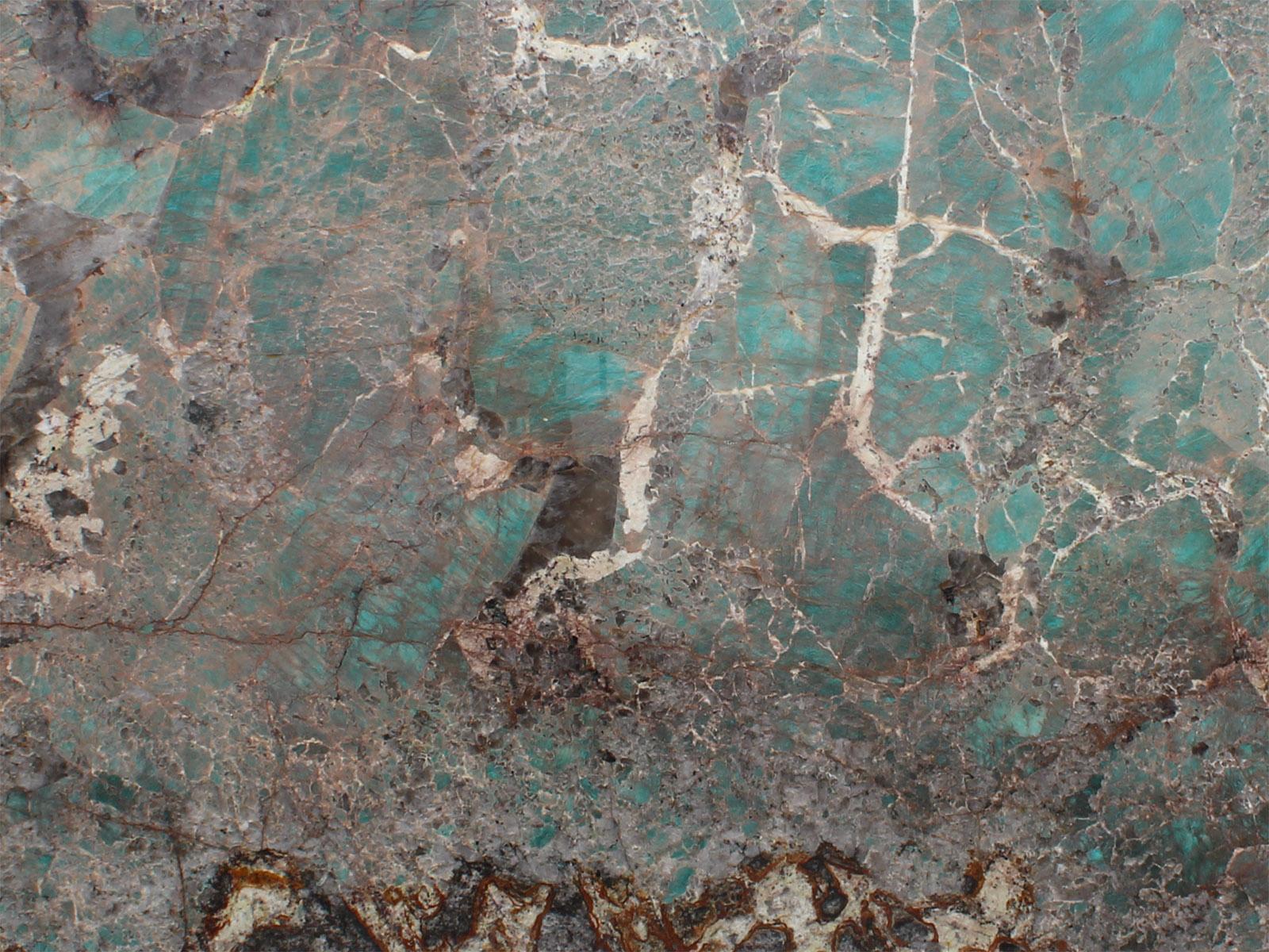 View of Granite - Amazonite Extra 2cm & 3cm