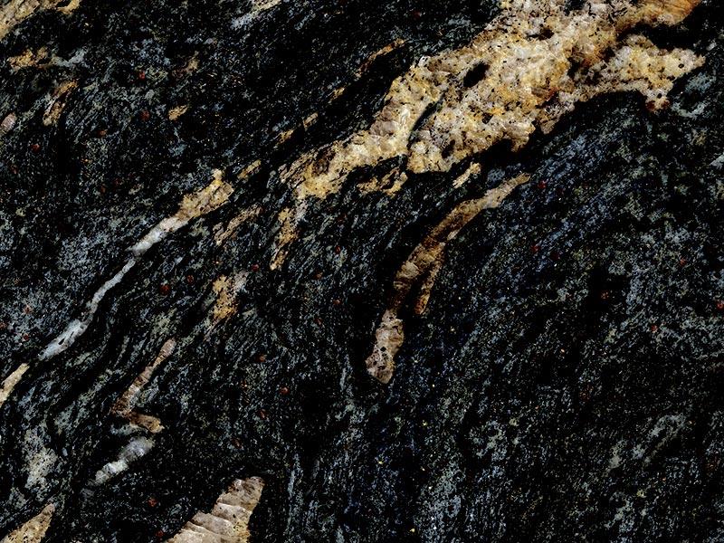 View of Granite - Azerobact Black Cosmic 3cm