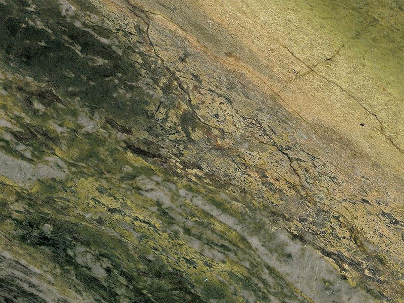 View of Marble - Azerobact Irish Green 2cm
