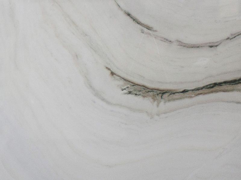 View of Marble - Bianco Lasa Fantastico Leather 3cm