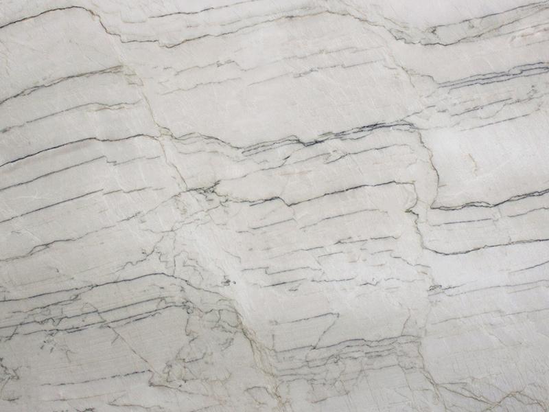 View of Quartzite - Bianco Pearl Quartzite 3cm
