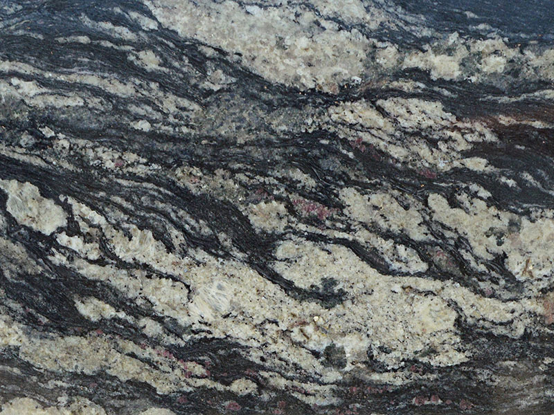 View of Granite - Black Silver 3cm