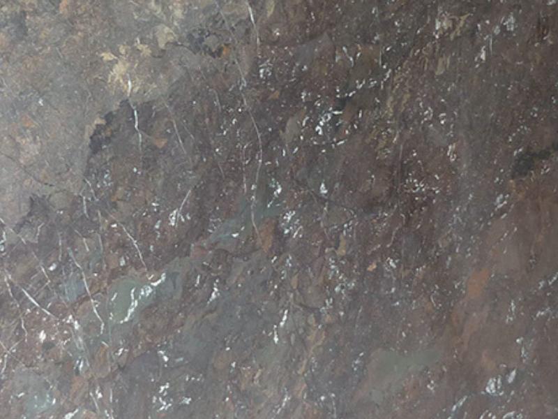 View of Granite - Breccia Imperiale Leather 3cm