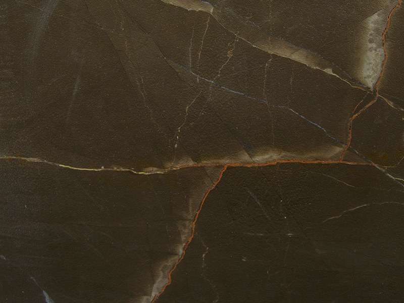 View of Marble - Bronze Armani Leather 2cm