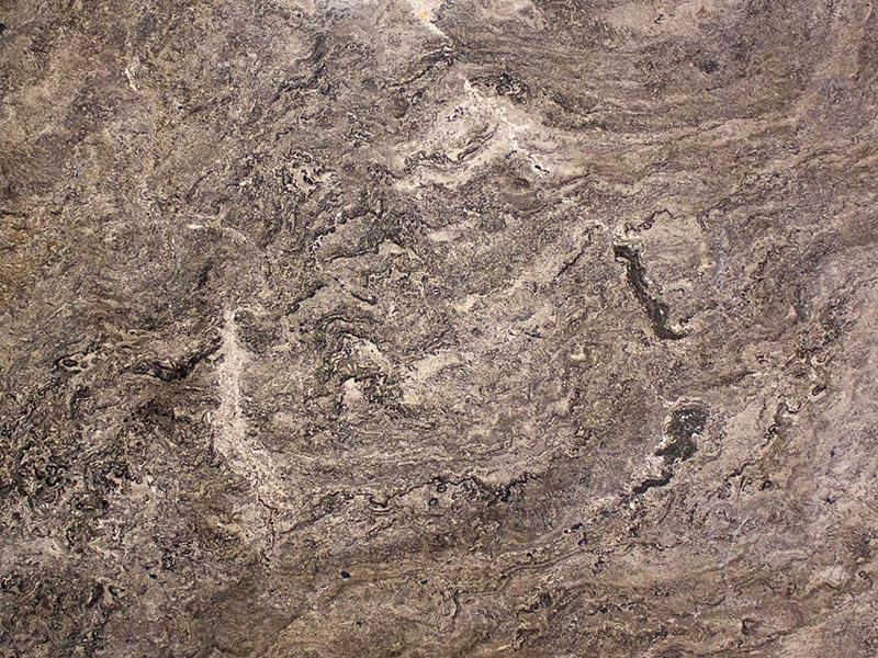 View of Travertine - Bronzo Polished Travertine 2cm