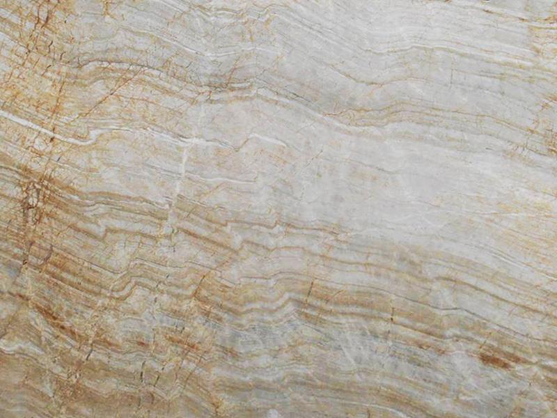 View of Quartzite - Chateau Blanc Leather Quartzite 3cm