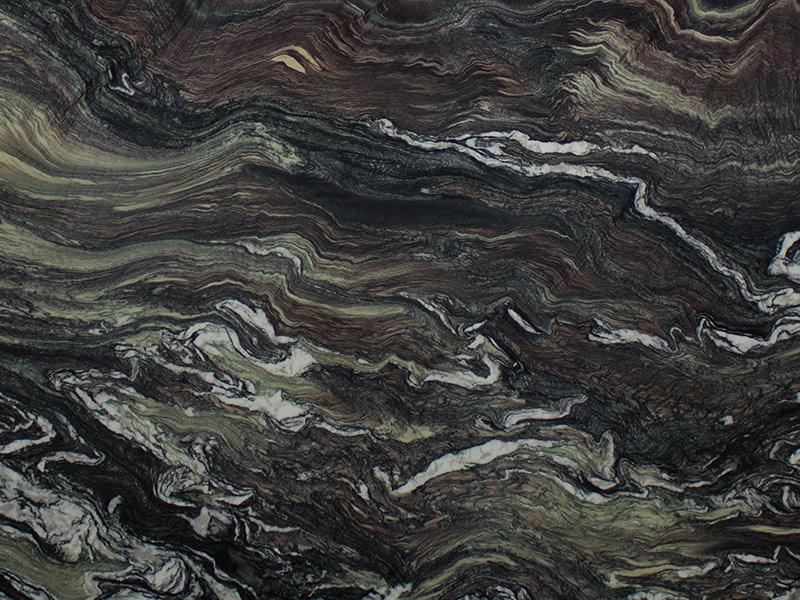 View of Marble - Cipollino Ondulato Rosso 2cm