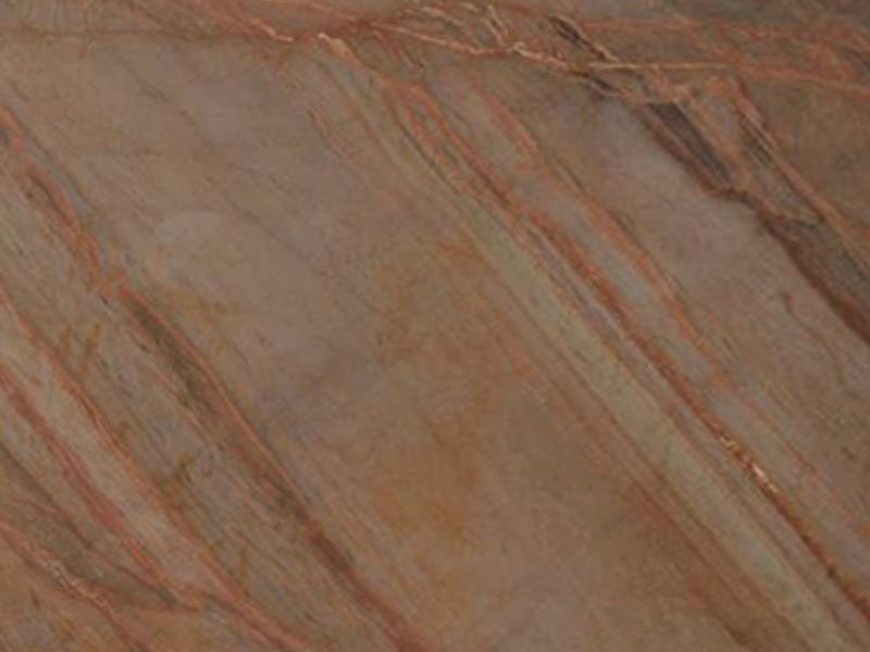 View of Quartzite - Exuberant Brown Quartzite 3cm