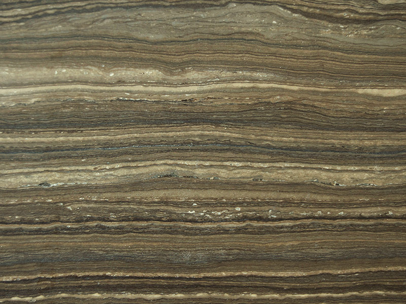 View of Marble - Magic Brown Vein Cut Leather 3cm