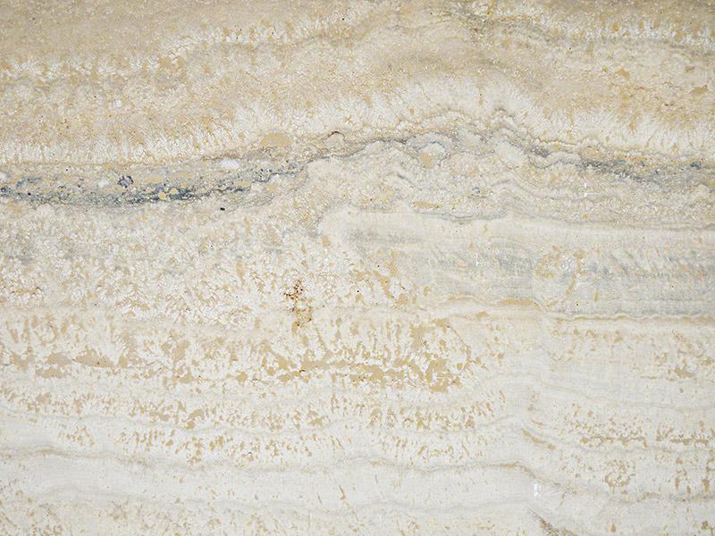 View of Travertine - Platino Polished Travertine 2cm