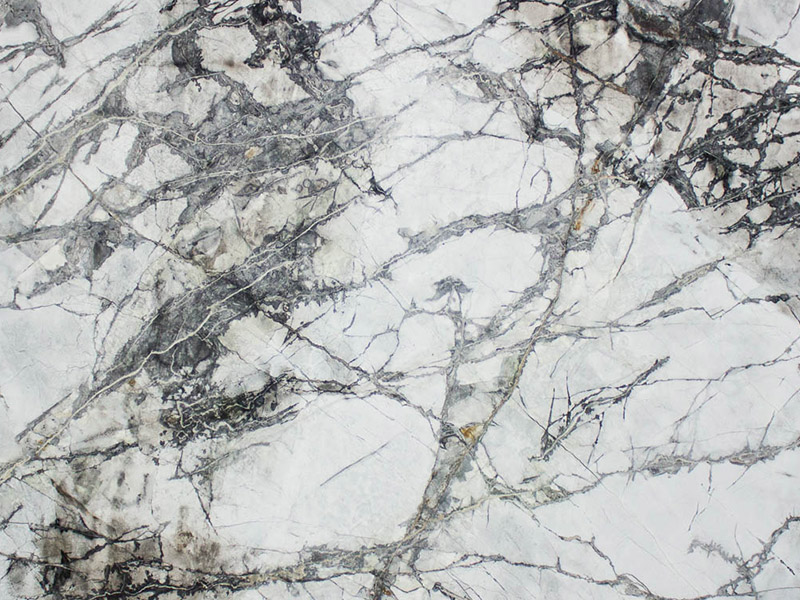 View of Marble - Rainforest White 3cm