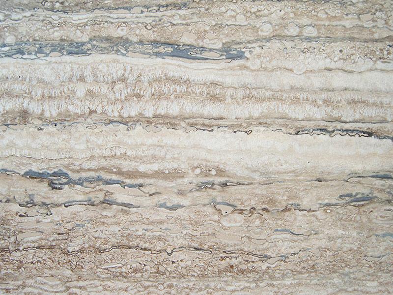View of Travertine - Silver Travertine Honed 2cm & 3cm