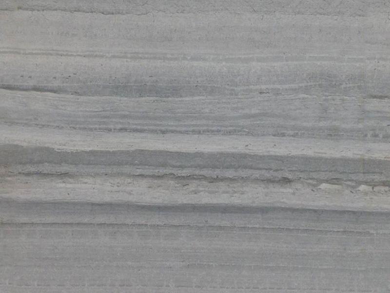 View of Travertine - Silver Wood Travertine Polished 2cm