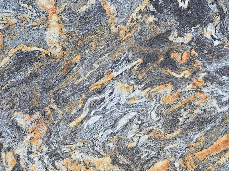 View of Granite - Titanium Gold 3cm