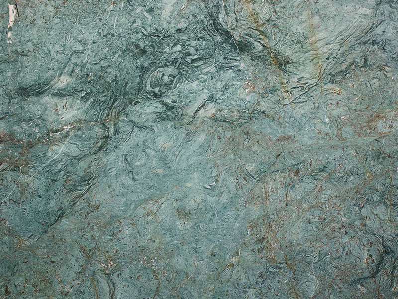 View of Granite - Turquoise Leather 3cm
