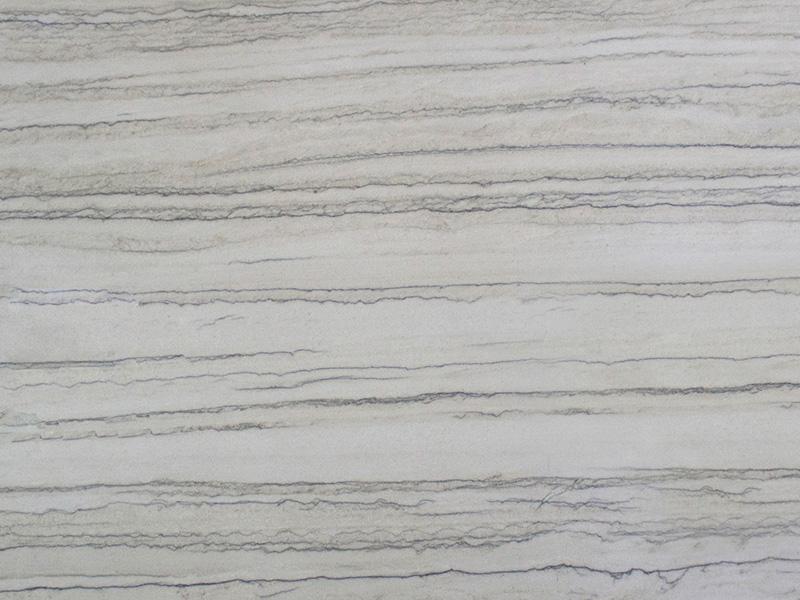 View of Quartzite - White Macaubus Premium Quartzite 2cm & 3cm