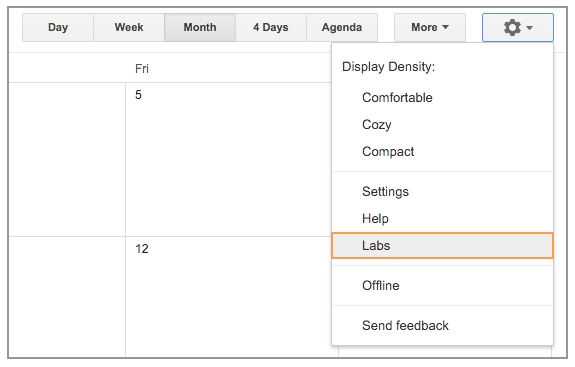 how to add nong li calendar to google calendar